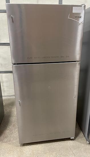 Whirlpool 18 CF Top Freezer Refrigerator SS- 20354