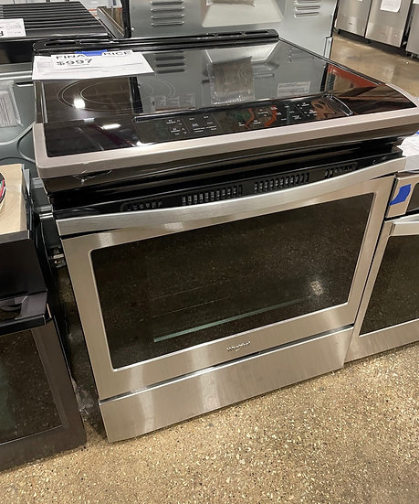 Whirlpool 4.8 CF Electric Front Control Range SS- 15830