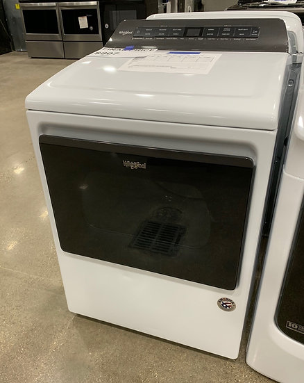 Whirlpool 7.4 CF Electric Dryer White- 328