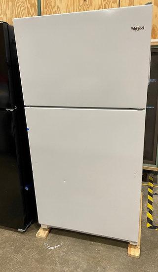 Whirlpool 20 CF Top Freezer Refrigerator White- 21607