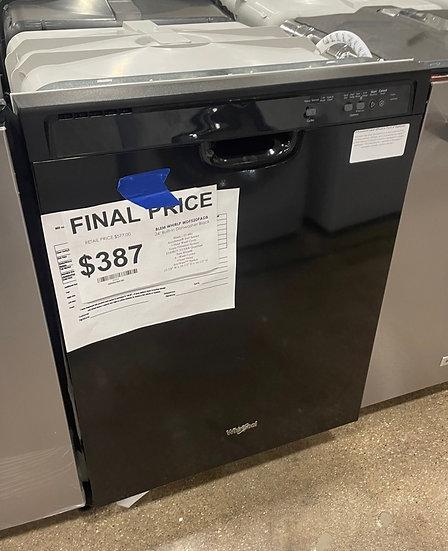 Whirlpool Energy Star Dishwasher Black- 20334