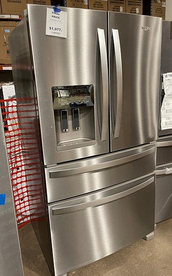 Whirlpool 25 CF French Door Refrigerator SS- KA1811057 (14074 98)
