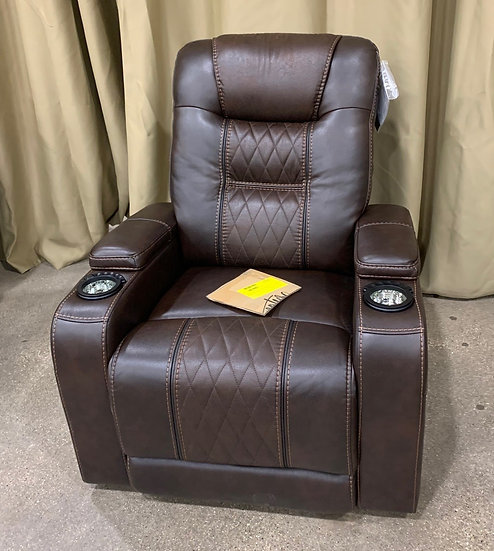 Ashley Power Recliner with Adjustable Headrest- 28587