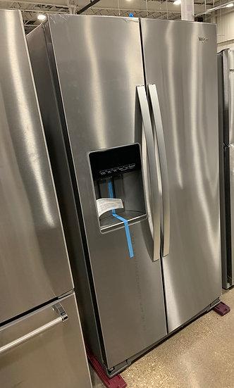 Whirlpool 28 CF Side By Side Refrigerator SS- 06050
