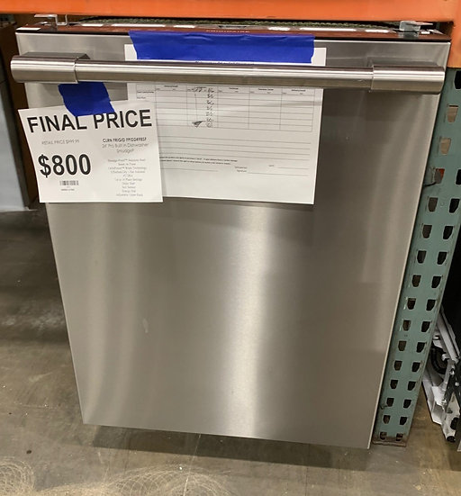 Frigidaire Built In Dishwasher SS- 11857