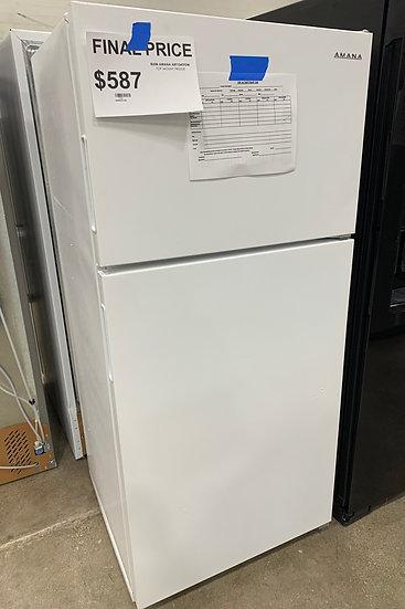 Amana 14 CF Top Freezer Refrigerator White- 94365