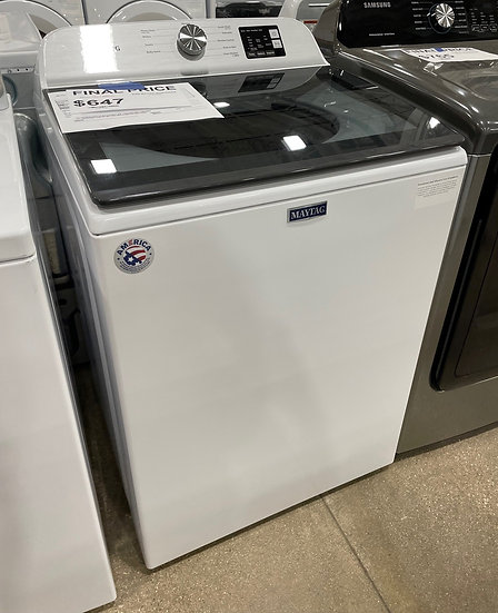 Maytag 4.8 CF Top Load Washer White- 20360