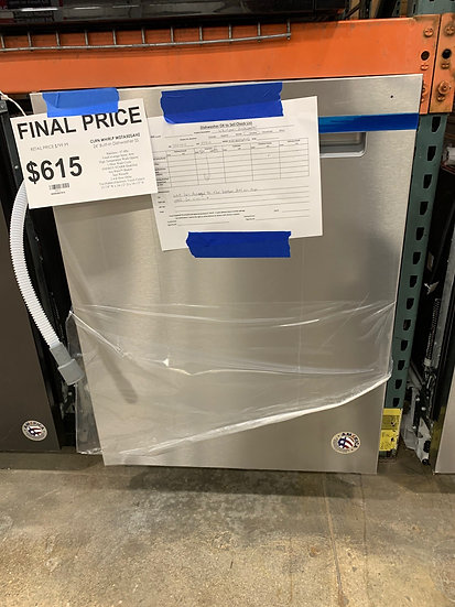 "Whirlpool 24"" Built In Dishwasher SS- 59812"