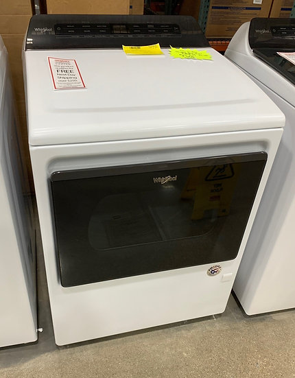 Whirlpool 7 CF Electric Dryer White