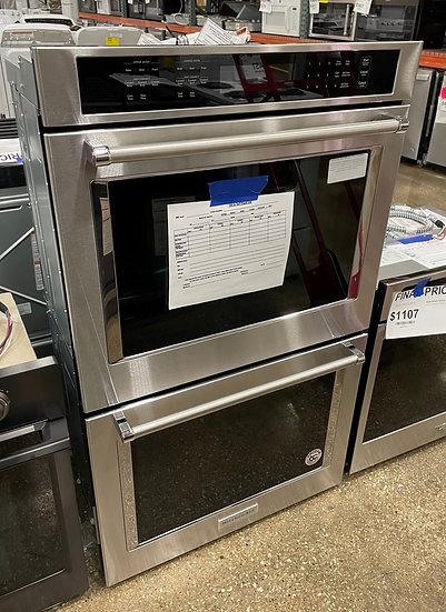 Kitchenaid 5 CF Electric Double Wall Oven SS- 17713