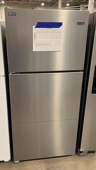 Maytag 18 CF Top Freezer Refrigerator SS- 91703