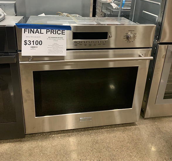 MONOGR 5.0 CF Electric Single Convection Wall Oven SS- 68868