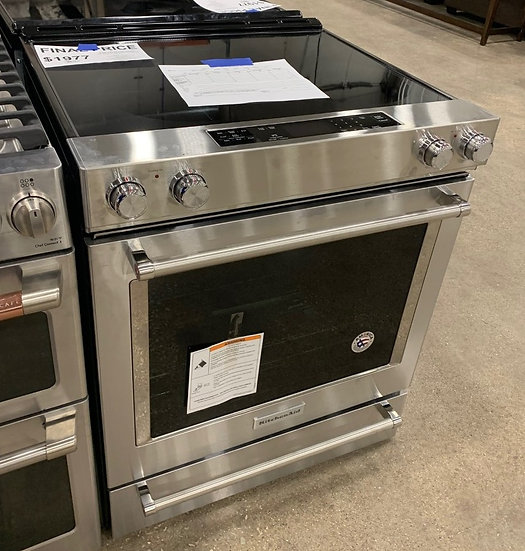 Kitchenaid 6.4 CF Electric Slide In Convection Range SS- 96035