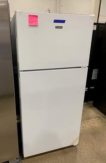 Hotpoint 15.6 CF Top Freezer Refrigerator White- 67548