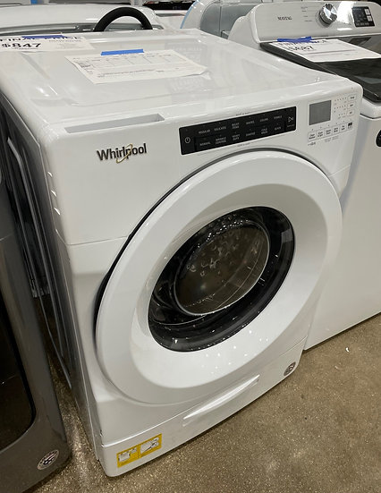 Whirlpool 4.5 CF Closet Depth Front Load Washer White- 24705