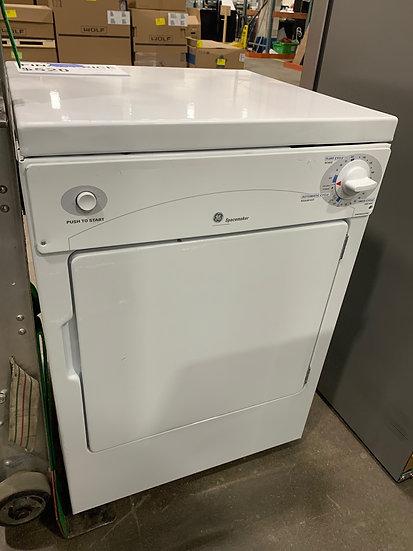 GE 3.6 CF Portable Electric Dryer White- 10793