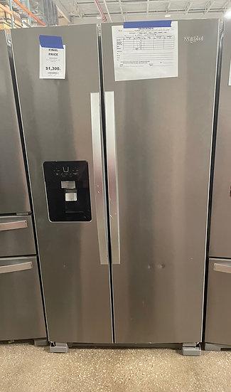Whirlpool 25 CF Side By Side Refrigerator SS- 25581