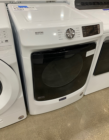 Maytag 7.3 CF Electric Dryer White- 1227