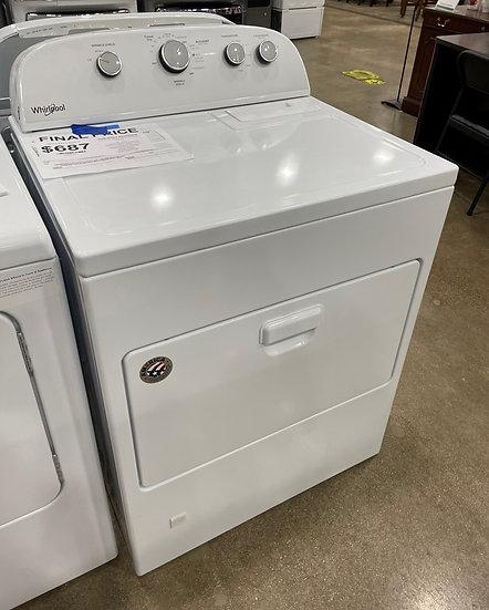 Whirlpool 7 CF Gas Dryer White- 21590