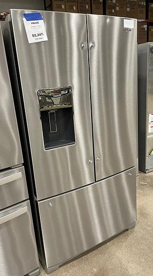 Whirlpool 27 CF French Door Refrigerator SS- KA3004076 (14093 93)