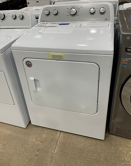 Maytag 7 CF Dryer with Sanitize Cycle White- 88956