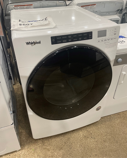 Whirlpool 7.4 CF Front Load Electric Dryer White- 83910
