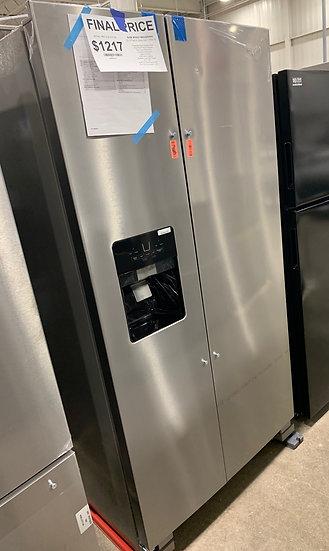 Whirlpool 25 CF Side By Side Refrigerator SS- 06037