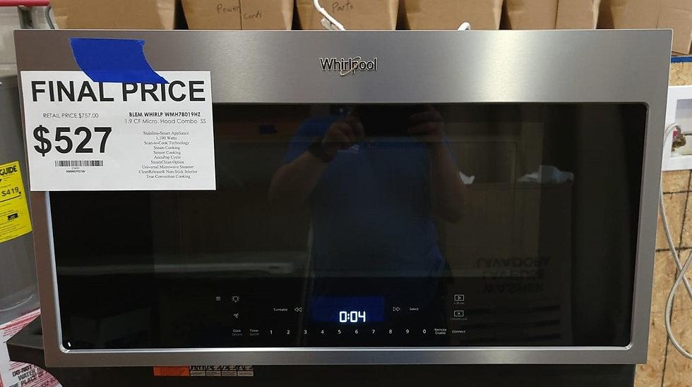 Whirlpool 1.9 CF OTR Microwave SS- 23400