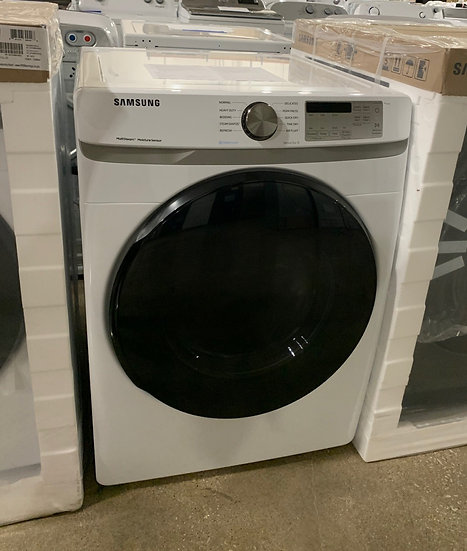 Samsung-D 7.5 CF Gas Dryer with Steam White- 47755