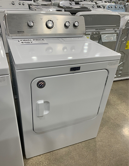 Maytag 7 CF Large Capacity Electric Dryer White- 91585