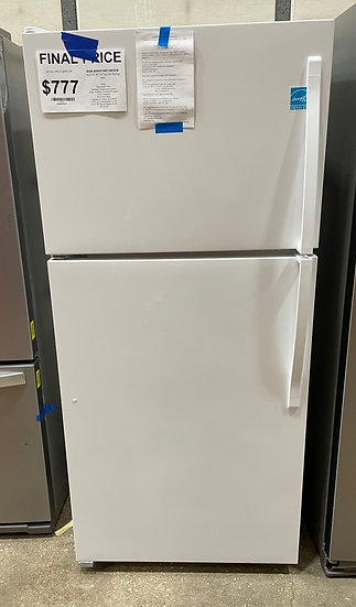 Whirlpool 18 CF Top Freezer Refrigerator White- 24700