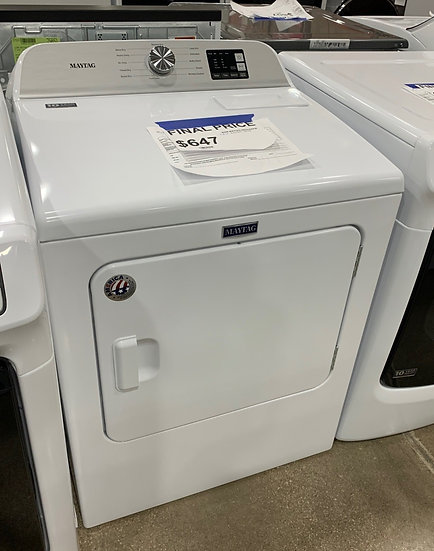 Maytag 7 CF Electric Dryer White- 89731