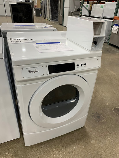 Whirlpool 6.7 CF Commercial Grade Electric Dryer White- 86304