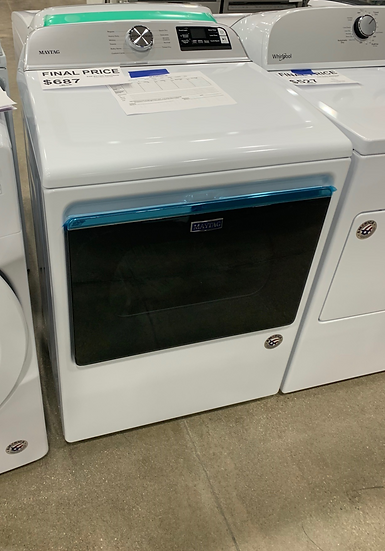 Maytag 7.4 CF Electric Dryer White- 91690