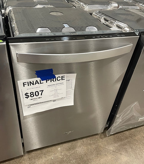 Whirlpool Stainless Tub Dishwasher SS- 20325