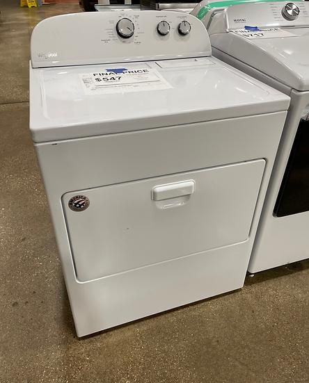 Whirlpool 7 CF Electric Dryer White- 17117