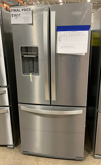 Whirlpool 20 CF French Door Refrigerator SS- 83897