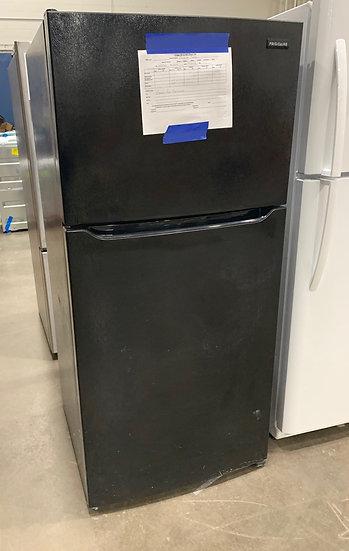 Electro 18 CF Top Freezer Refrigerator Black- 14299