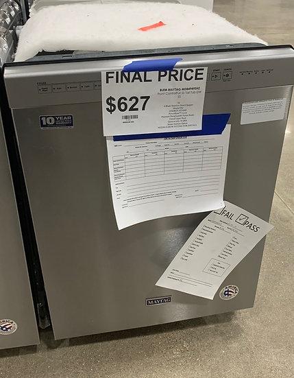 Maytag Steel Tub Dishwasher SS- 91596