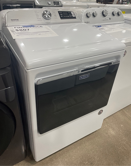 Maytag 7.4 CF Elecctric Dryer White- 20338