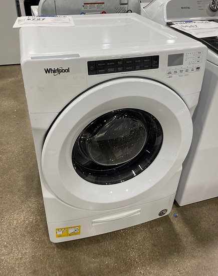 Whirlpool 4.5 CF Closet Depth Front Load Washer White- 21625