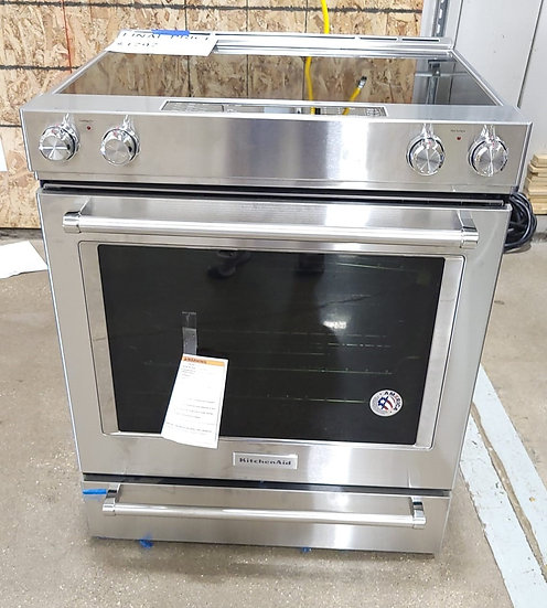 Kitchenaid 7.1 CF Electric Convection Slide In Range SS- 23403