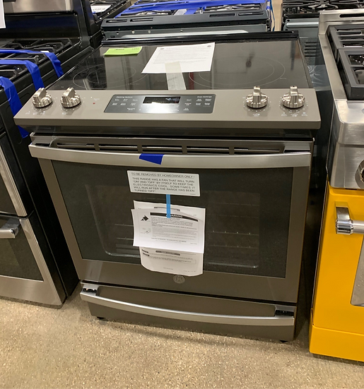 GE 5.3 CF Slide In Electric Convection Range SS- 12266