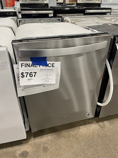 Whirlpool Stainless Tub Dishwasher SS- 17008