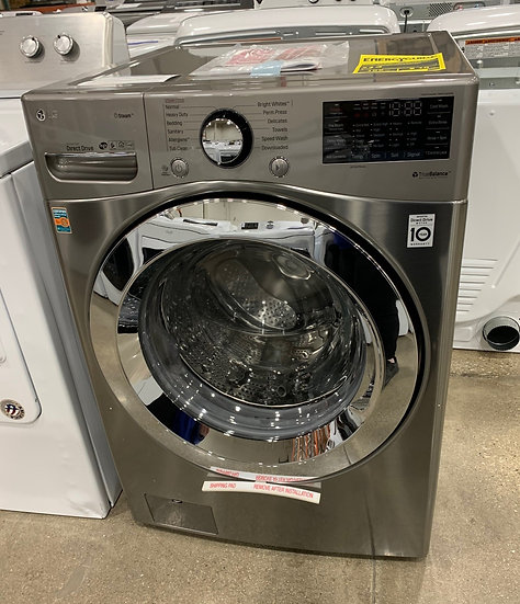 LG 4.5 CF Ultra Large Front Load Washer Graphite-80590