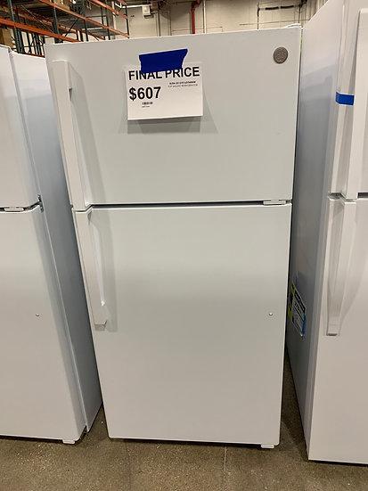 GE 15.6 CF Top Freezer Refrigerator White- 67517