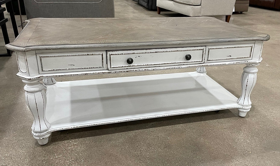 Liberty Magnolia Manor Cocktail Table- 17121