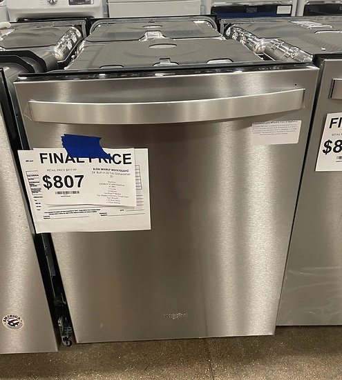 Whirlpool Stainless Tub Dishwasher SS- 20323