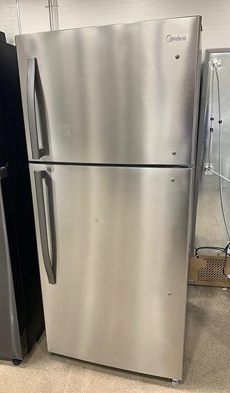 Midea 18 CF Top Mount Refrigerator SS- 97163