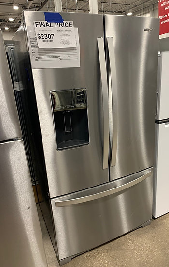 Whirlpool 27 CF French Door Refrigerator SS- 13459